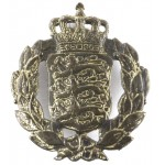 Denmark General Service Brass Badge